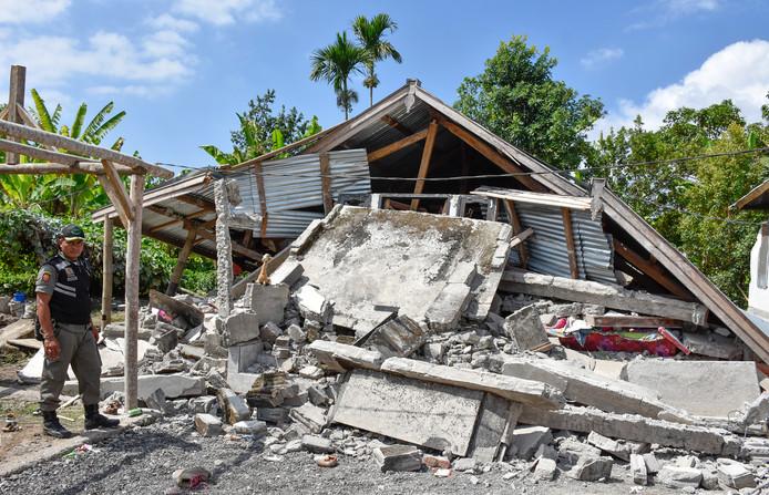 Op 29 juli werd Lombok ook al geraakt door een aardbeving. Toen was de ravage groot.