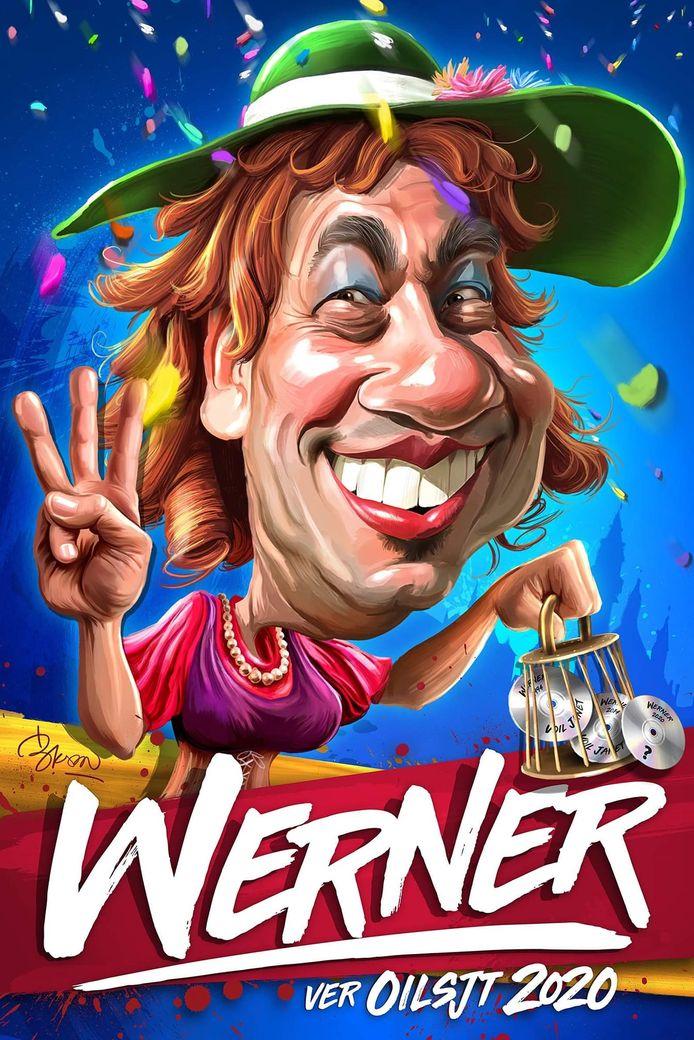 De affiche van Werner.