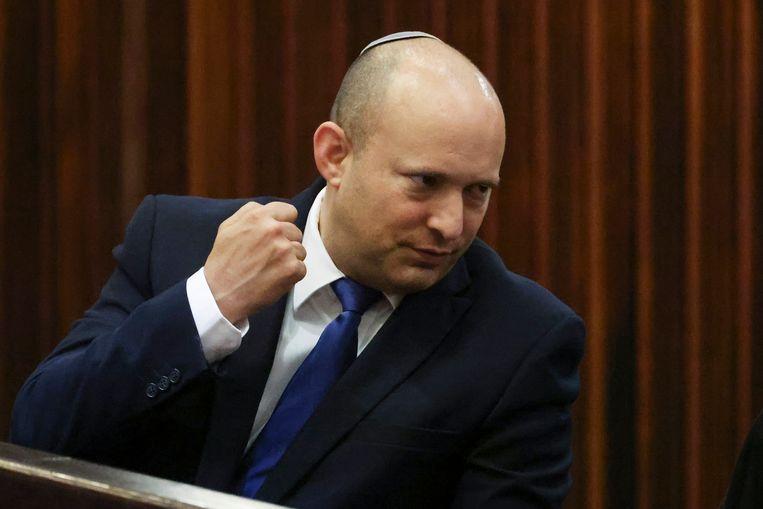De nationalistische politicus Naftali Bennett. Beeld AP
