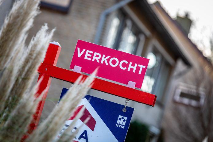 Het aantal verkochte woningen is ook in Dordrecht fors gestegen.