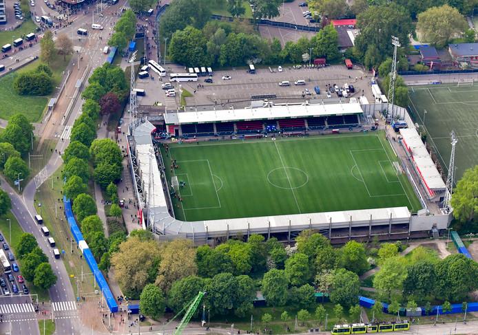 Supporters van Fortuna Sittard zijn zaterdag welkom in het thuisvak van Excelsior.