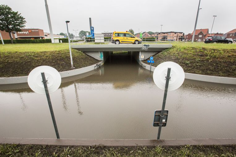 Wateroverlast in Bree