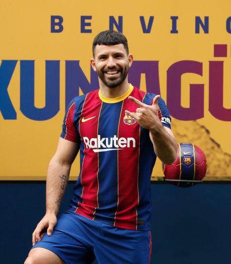 Agüero sprak nog niet met Koeman en verwacht mét goede vriend Messi voor FC Barcelona te spelen