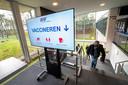 Op Papendal heeft men alles klaar staan om te kunnen beginnen met vaccineren.