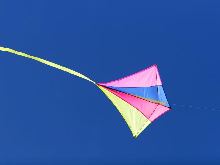'Mijn vlieger is klaar, maar waar is de wind?'