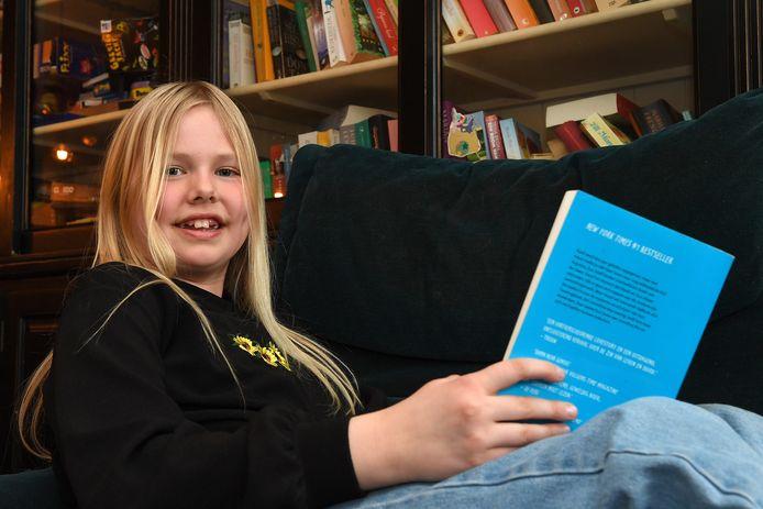 De 11-jarige Janna de Vries uit Sambeek mist de 'normale'  open dagen van middelbare scholen.