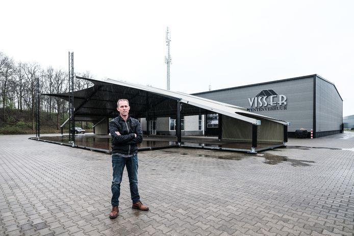 Paul Visser van Visser Tentenverhuur.