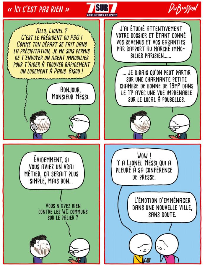 """""""Ici c'est pas rien"""", 13 août 2021;"""