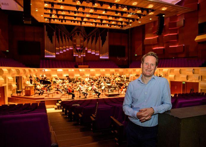 """Jeroen van Breugel is de nieuwe zakelijk directeur van het Rotterdams Philharmonisch Orkest: ,,Wij spelen Champions League, behoren tot de absolute wereldtop."""""""