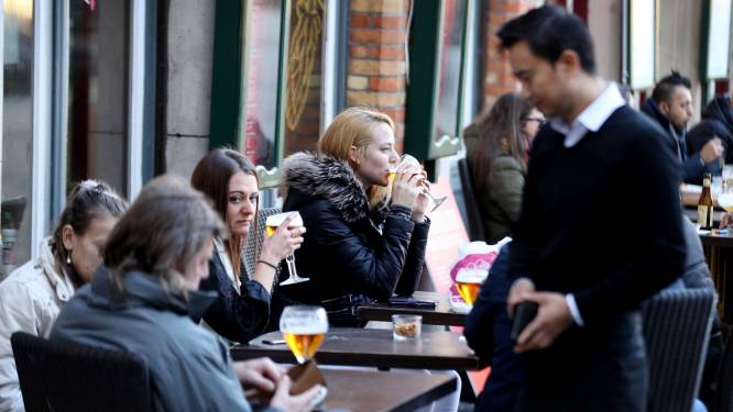 """Subsidie voor investeringen in terrassen wordt verdubbeld: """"Stadscentrum zonder horeca is als café zonder bier"""""""
