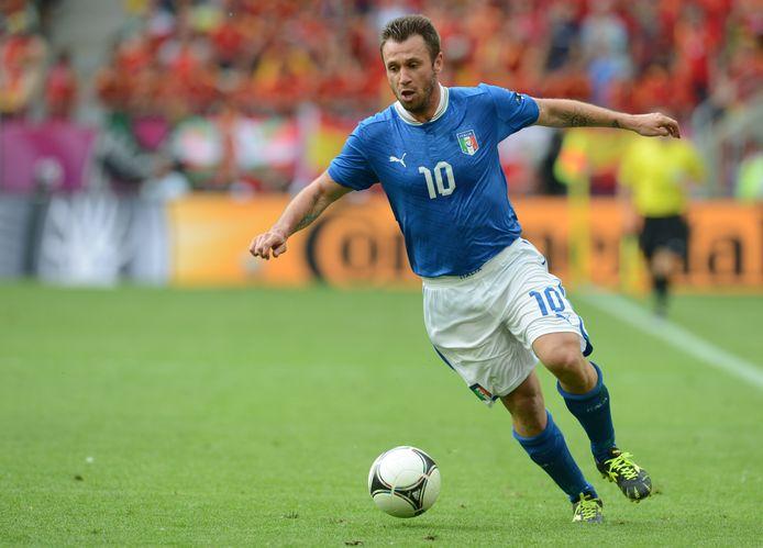 Antonio Cassano werd in ze winter van 2005 voor 5,5 euro weggekocht bij AS Roma.