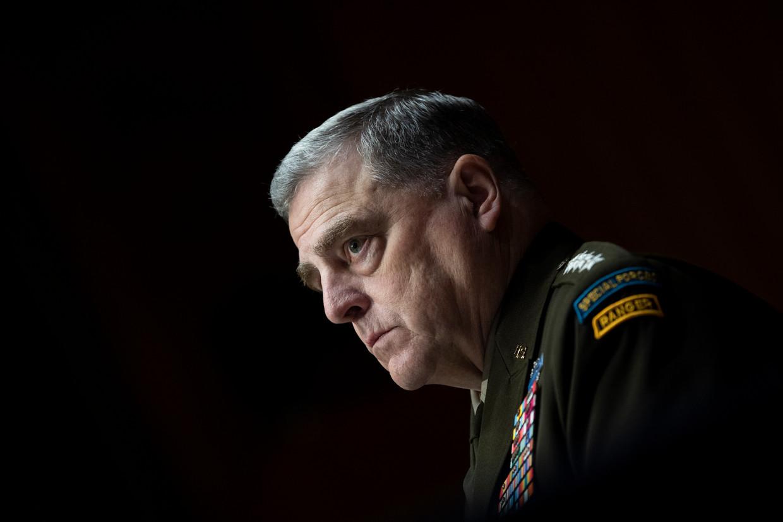 Generaal Mark Milley.  Beeld AP