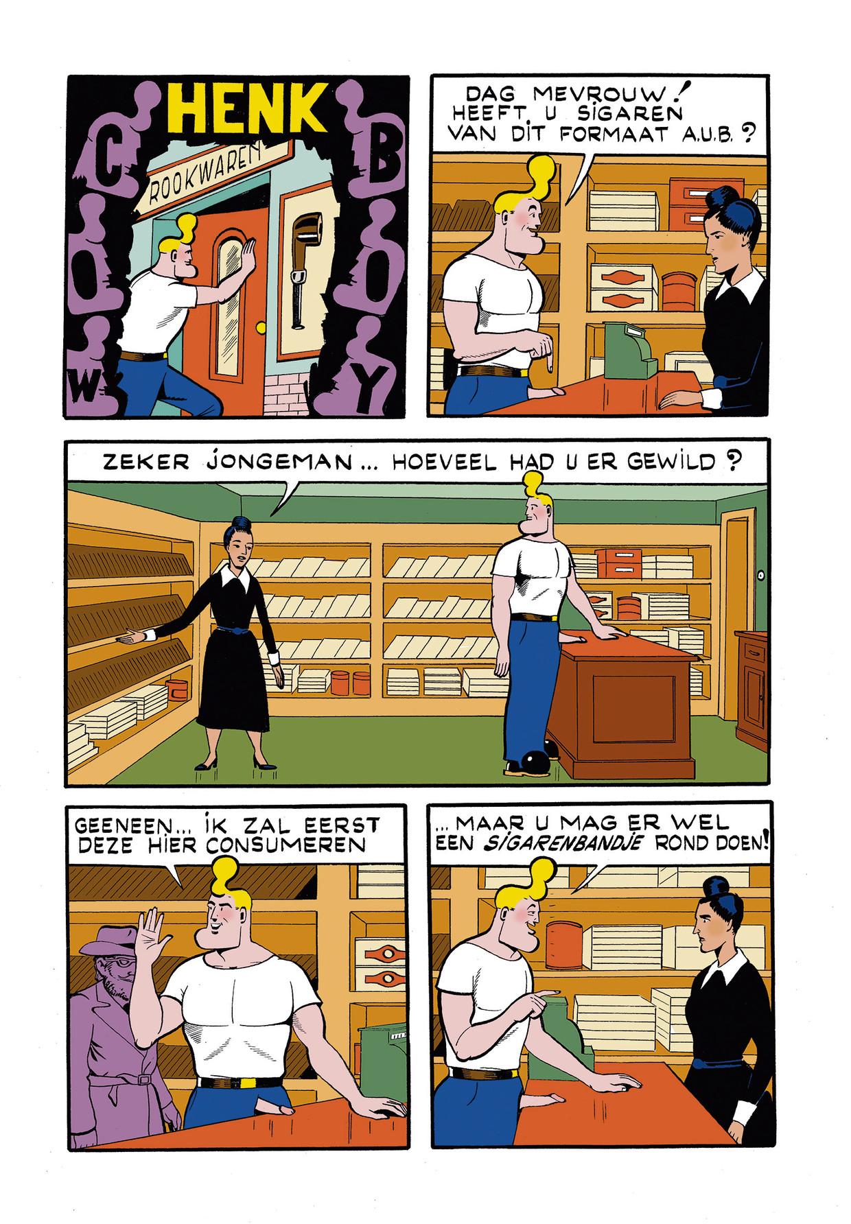 Cowboy Henk 29 Beeld Kamagurka
