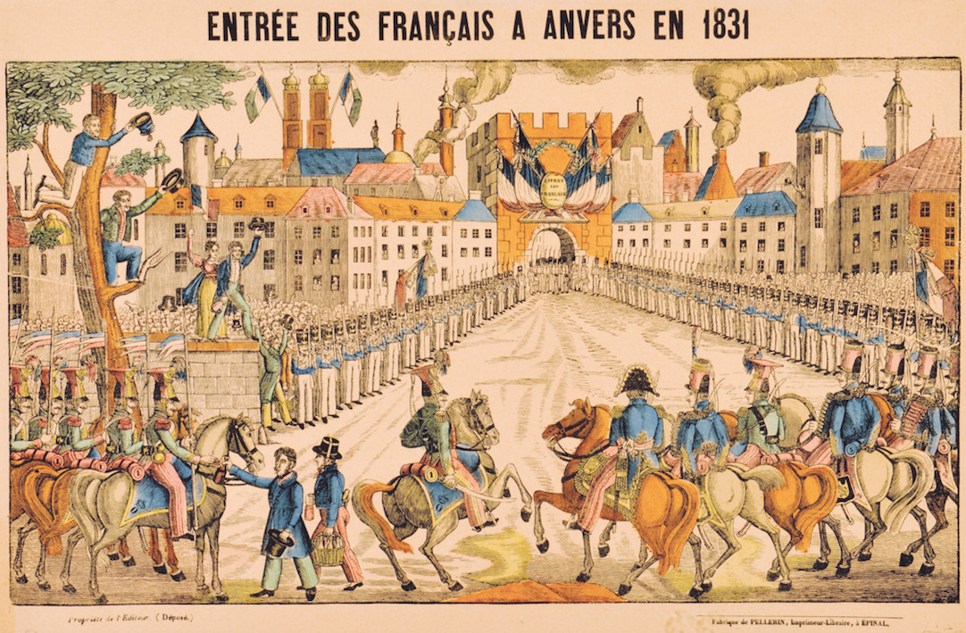 Intrede van de Fransen in 1831