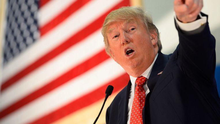 Republikeins presidentskandidaat Donald Trump Beeld ANP