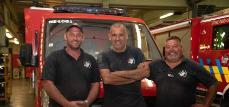 Des pompiers de Wetteren sauvent la vie d'un quadragénaire à Pepinster