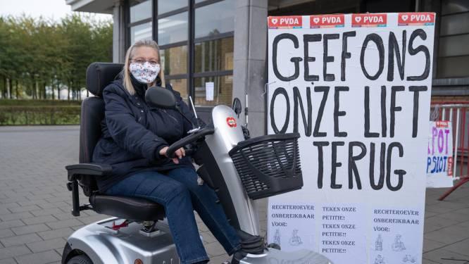 """""""Dit is gewoon met de mensen lachen"""": PVDA hekelt defecte liften aan voetgangerstunnel"""