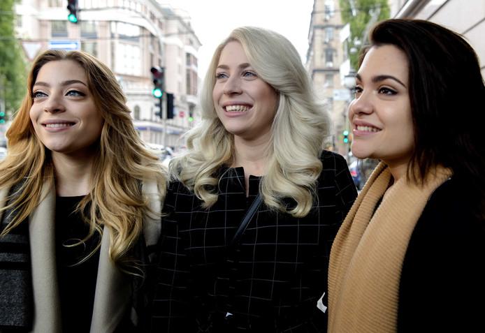 Amy, Lisa en Shelley van OG3NE.