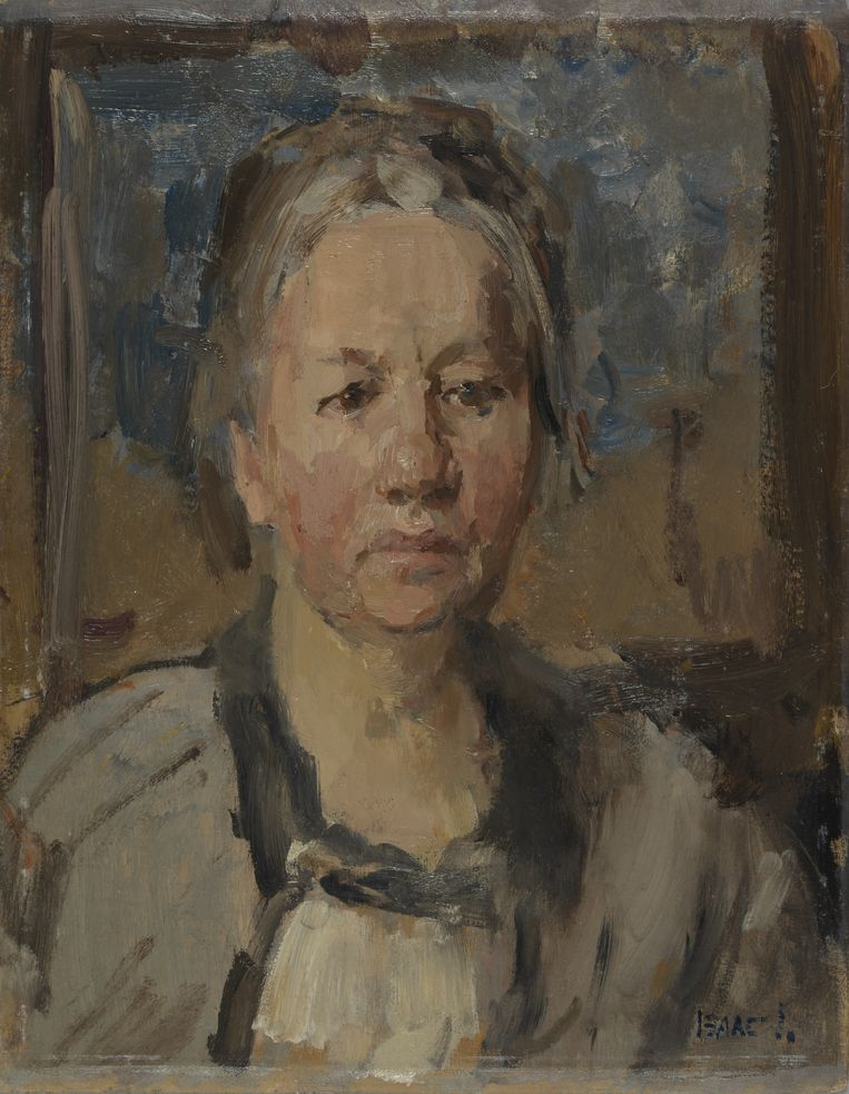 Portret van Jo van Gogh-Bonger door Isaac Israëls, 1925. Beeld Van Gogh Museum