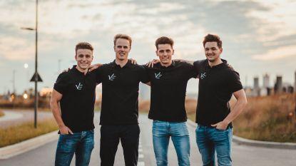 Van schoolproject tot volwaardig bedrijf: vier ingenieursstudenten lanceren beschermende wielerbroek