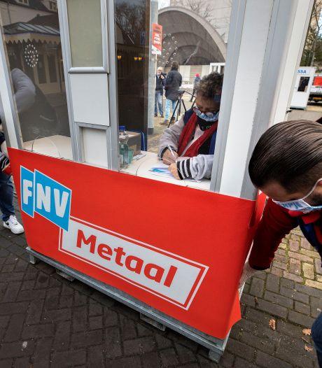 Weer staking van 48 uur uitgeroepen bij DAF vanwege metaal-cao