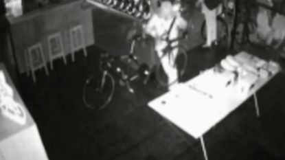 Dieven pikken dure Bianchi-fietsen