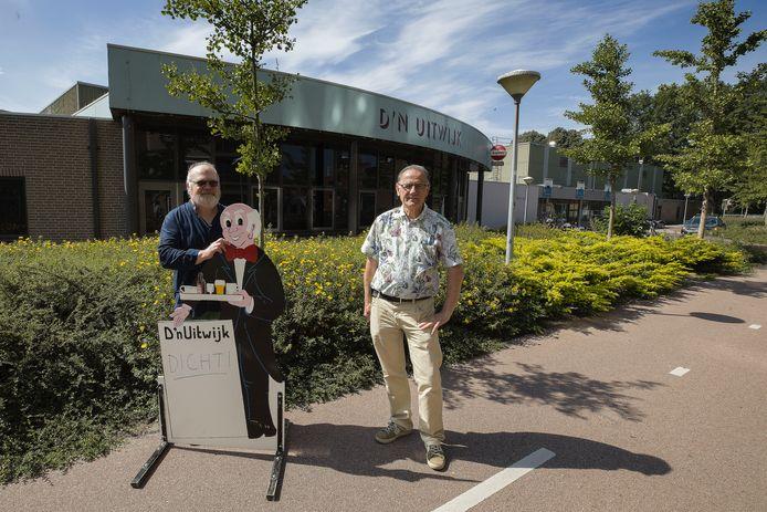Voorzitter Wim van Grunsven (l) en secretaris/penningmeester Anton Broos van D'n Uitwijk