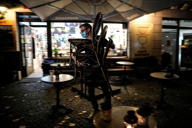 In Duitsland wordt gesproken van een 'lockdown light'. Beeld AFP