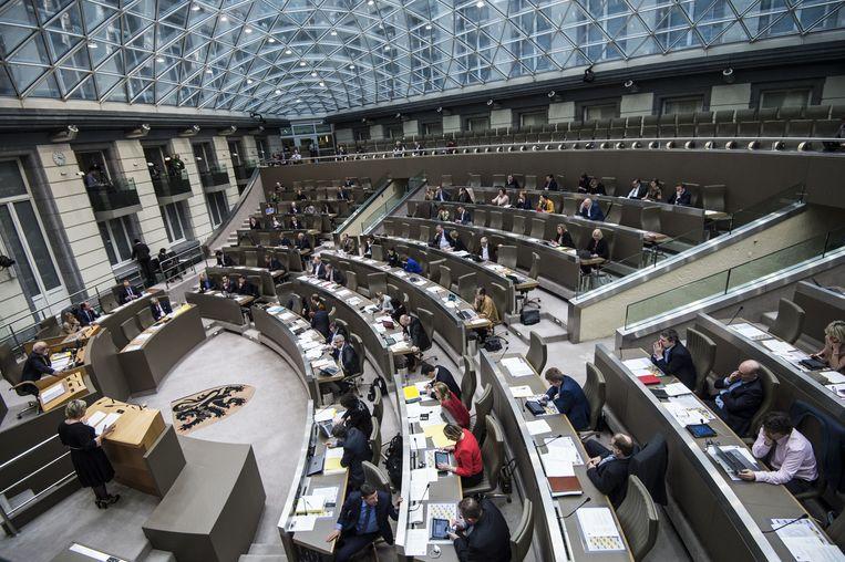 In het Vlaams Parlement werd vanmiddag gedebatteerd over Uplace.