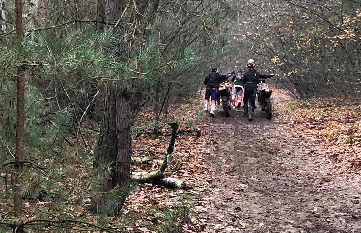 Wildcrossers aangehouden in De Pan (archieffoto)