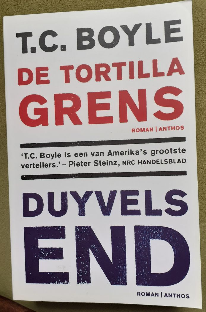 cover Duyvels End van T.C. Boyle