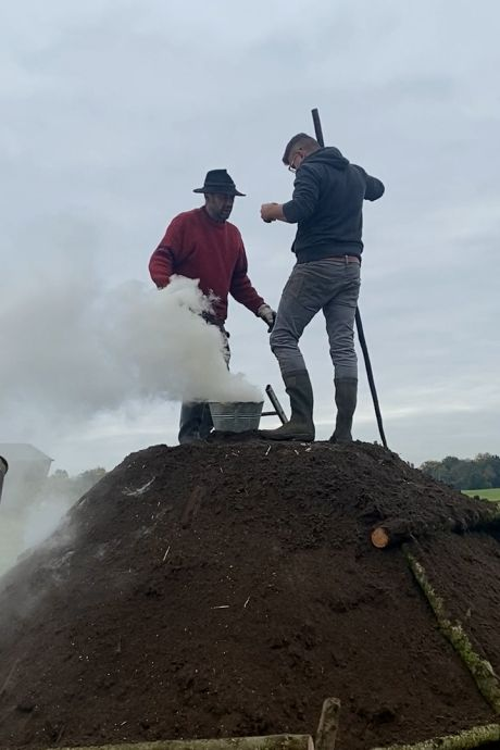 Beste Achterhoekers, een 'vet' onderzoek naar houtskool