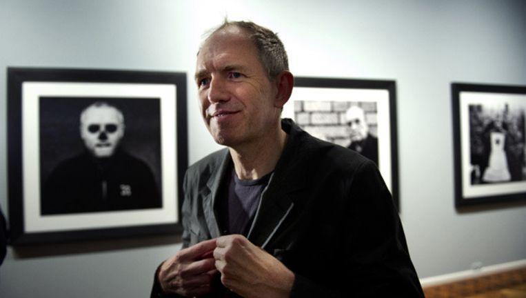 Anton Corbijn bij zijn tentoonstelling Inwards and onwards in het FOAM in Amsterdam. © ANP Beeld