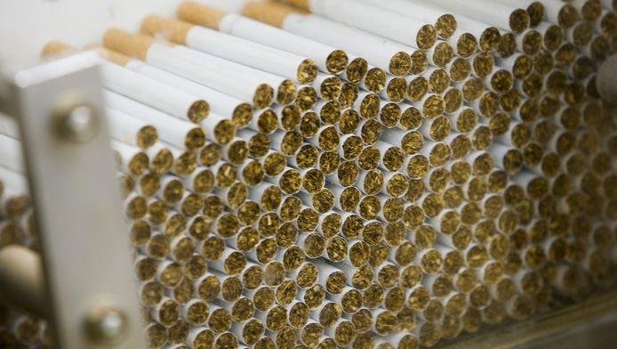 Sigaretten uit de fabriek in Bergen op Zoom