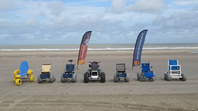 """Helpt u vzw om elektrische strandrolstoel aan te kopen? """"Mensen willen 100 procent zelfstandig het zand op kunnen"""""""