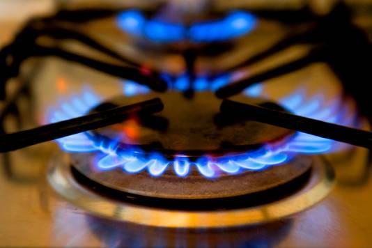 Gas maakt veruit het belangrijkste deel van de energierekening uit