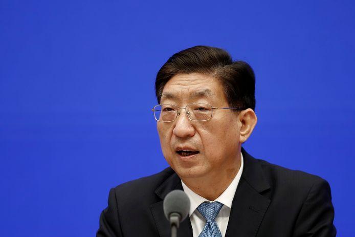 Zeng Yixin, vice-ministre chinois de la Santé