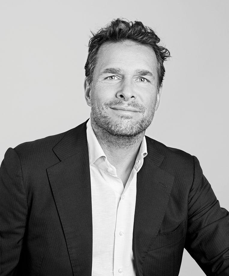 Bas Dekker. Directeur van Soto Solar, bestuurslid stichting IJbaan Amsterdam. Beeld