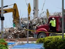 Zoeken naar resten slachtoffers ingestorte flat Miami gestaakt