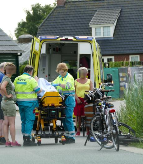 Vrouw op fiets gewond in Amersfoort