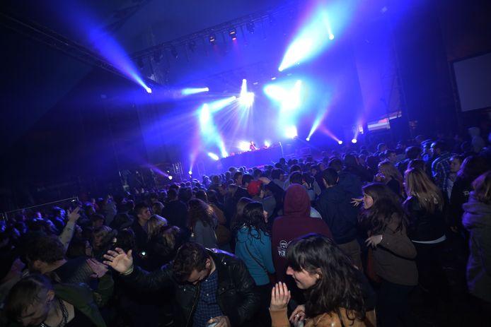 Een beeld van tijdens de laatste editie van Rock Ternat in 2013.