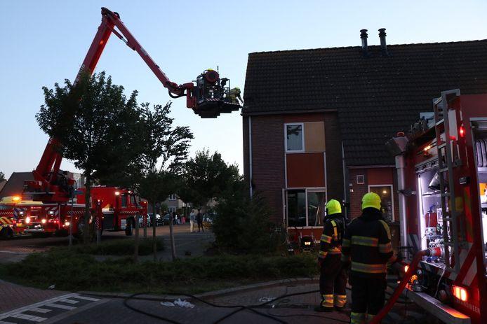 Woningbrand Zaltbommel