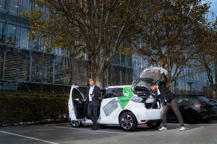 Antwerpse deelwagens van GreenMobility rijden nu ook naar Gent