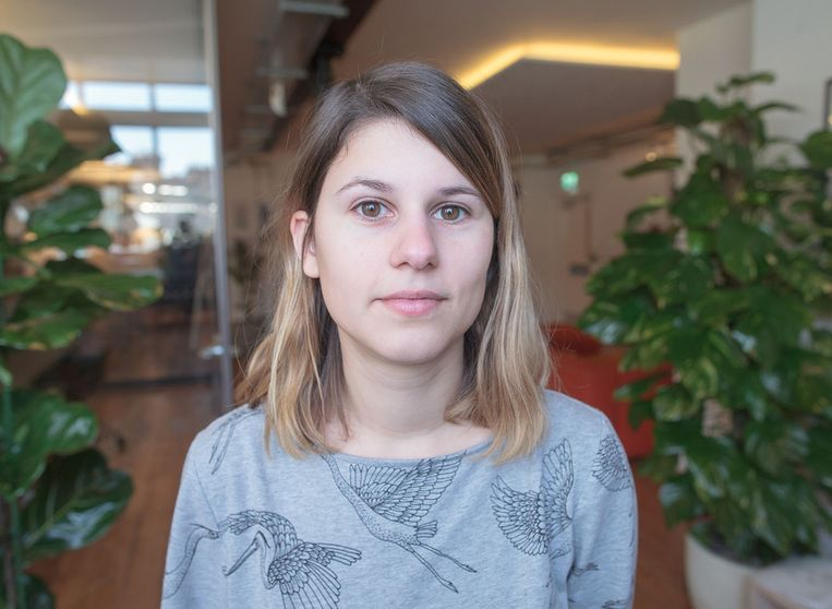 Laure De Mey is gameontwikkelaar. Beeld rv