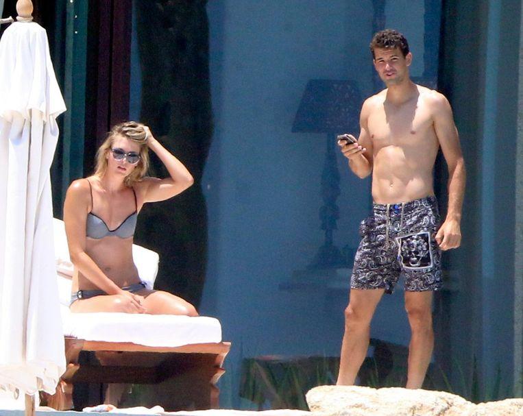Sharapova en Dimitrov op vakantie in het Mexicaanse Los Cabos.