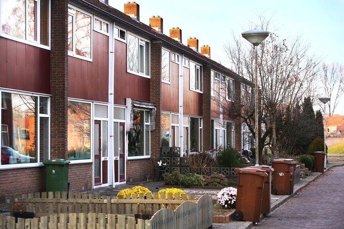 Breda- Sociale huurwoningen in De Rombout Keldermanstraat in Geeren-Zuid.