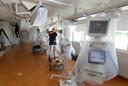 Er is een nieuwe intensive care voor coronapatiënten gebouwd in het Slingeland Ziekenhuis in Doetinchem.