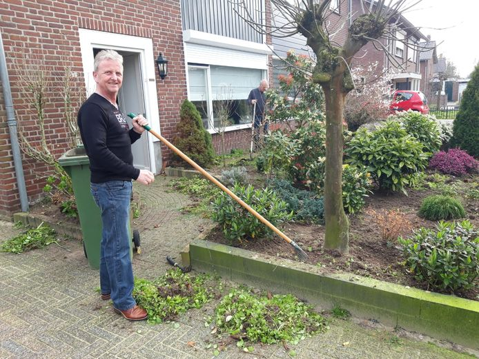 Opbouwwerker Frans Sleegers van de LEVgroep in Helmond-Noord.