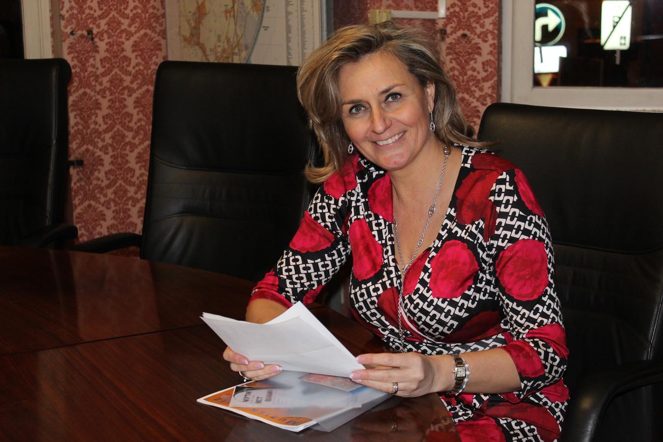 Kathleen Depoorter is kamerlid en schepen in Evergem.