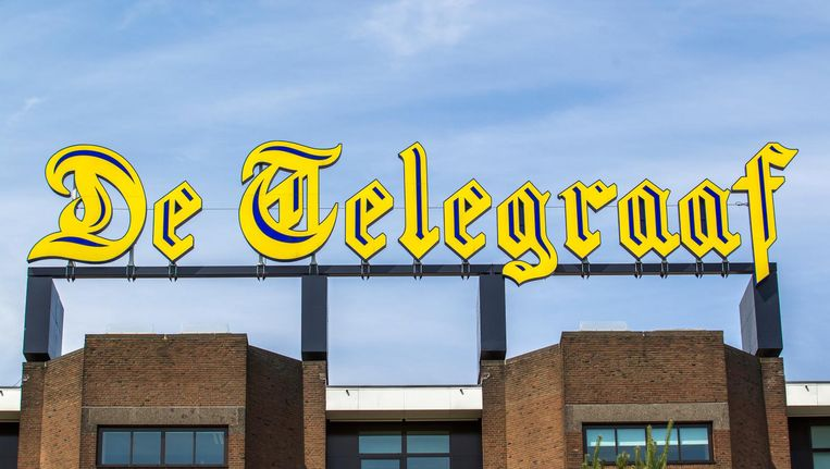 Een 'Nederlands icoon', zoals de Telegraaf zich graag omschrijft. Beeld anp